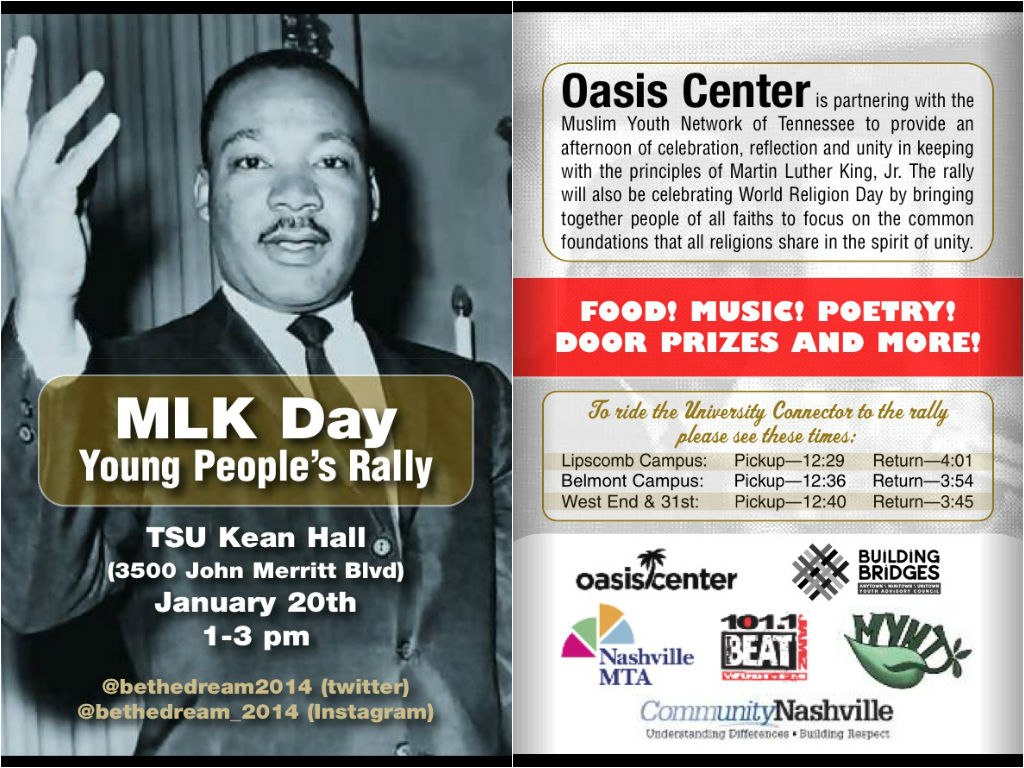MLK Day Flyer